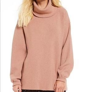 Free People Simply Structured Sweater Small mauve